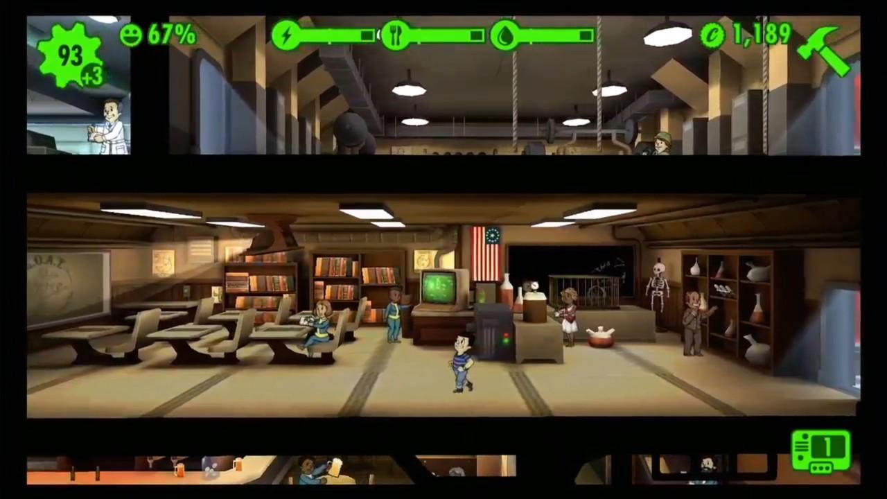Fallout shelter and other free friends for Android